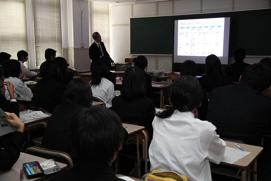 本田さんの講義の様子