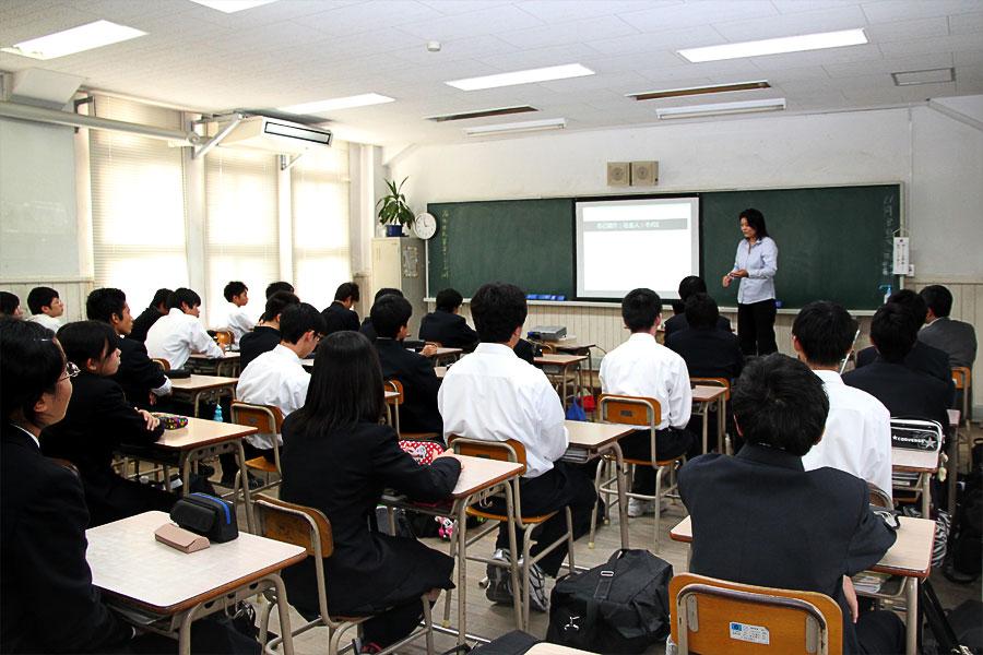 園田さんの講義の様子