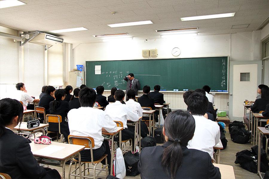 大和さんの講義の様子