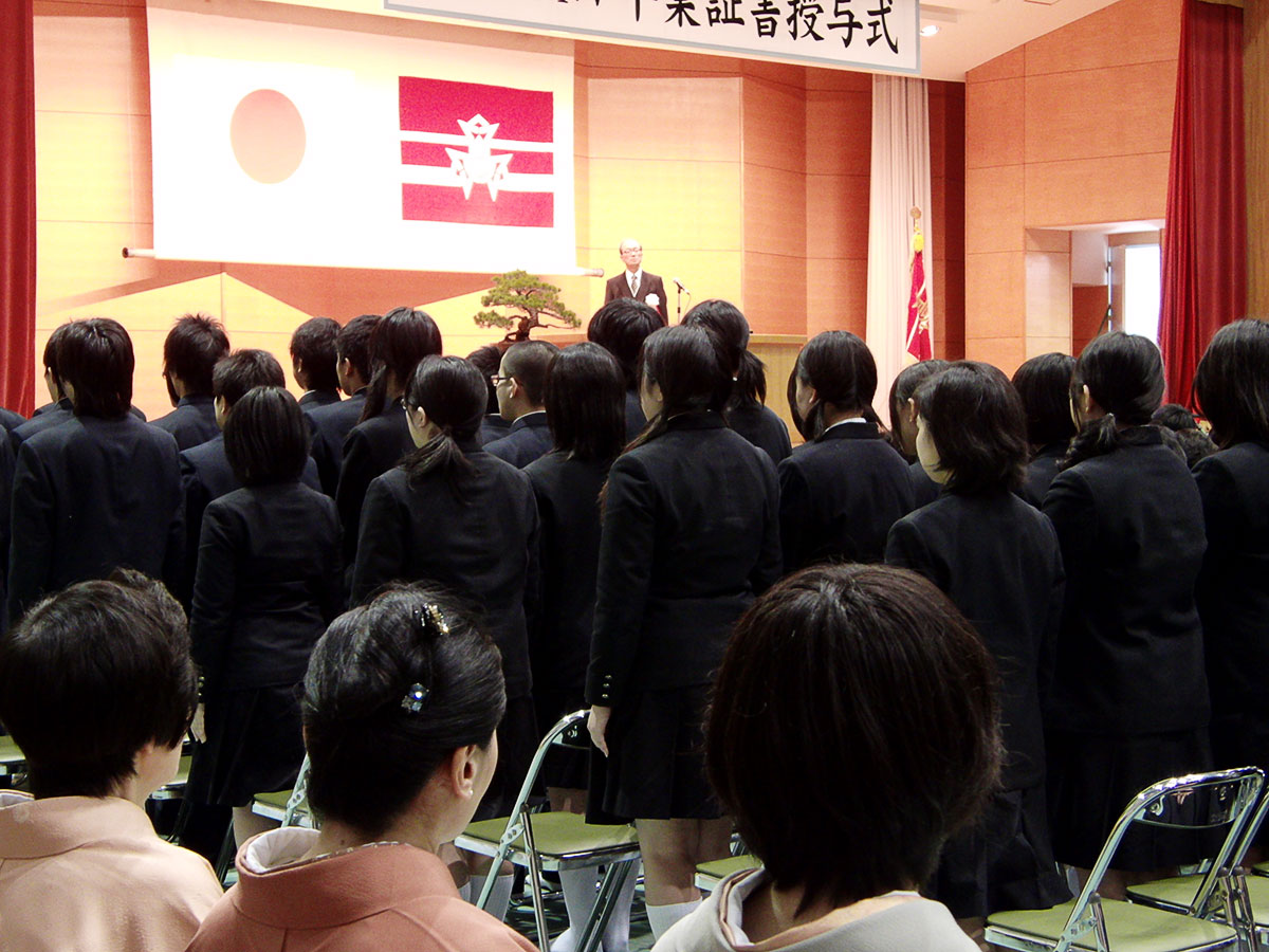 平成23年度卒業式の様子