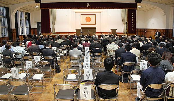 平成28年度 常任幹事会の様子