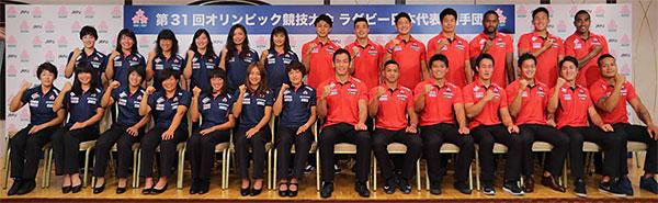 リオ・オリンピック ラグビーセブンズ日本代表