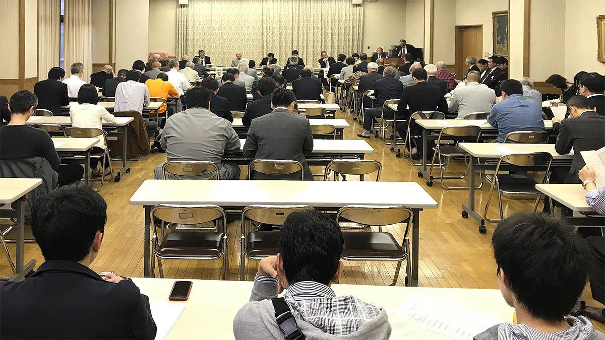 平成30年度 常任幹事会の様子