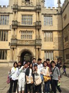 オックスフォード大学にて
